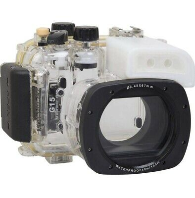 Polaroid SLR Dive Rated Waterproof Underwater Housing Case Canon G15
