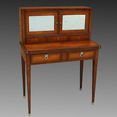 Antique Napoleon III Table writing desk inlaid - 19th century