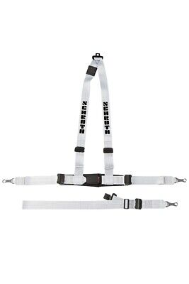 Schroth 10019 Silver Rally Harness 3 Point ASM LEFT