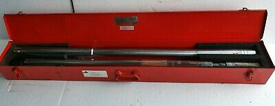 """PROTO 6023 1"""" Drive Torque Wrench, Fixed Head, Micrometer Type,  200-1000 Ft-Lbs"""