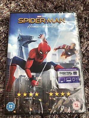 Spider-Man - Homecoming DVD - New And Sealed