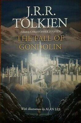 NYCC 2019 Exclusive HMH The Fall Of Gondolin J.R.R. Tolkien 11x17 Promo Poster