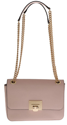 Michael Kors Damen Tasche Women Bag Pink TINA Leather