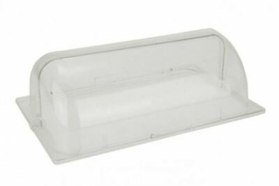 Polycarbonate Gastronorm 1/1 Roll Top Lid Display Food Cover