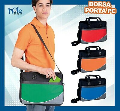 Borsa per pc portatile porta computer documenti custodia laptop notebook 15.6 B