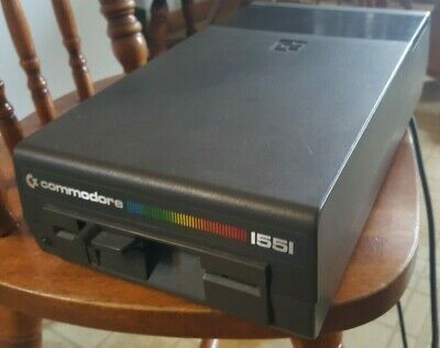 RARE Vintage Commodore 1551 Floppy drive - Tested and WORKING!