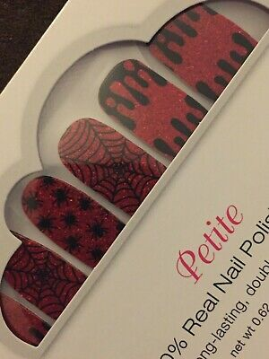 Color Street Nail Polish Strips (Truth or Scare) Petite Halloween