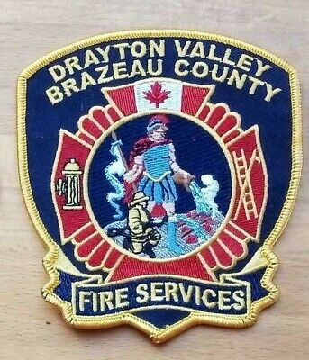 Canada Patch Fire Services Drayton Valley Brazeau County  ( Alberta )