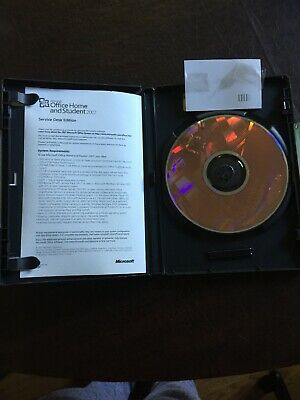 Microsoft Office Home and Student 2007 (1 User) W/Product Key