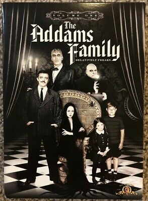 The Addams Family - Volume 1 (DVD, 2009, 3-Disc Set) In Excellent Condition!!!