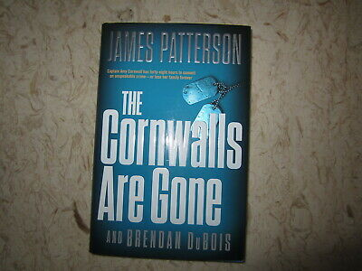 The Cornwalls are Gone by James Patterson & Brendan DuBois HBDJ 1st Ed Mar 2019