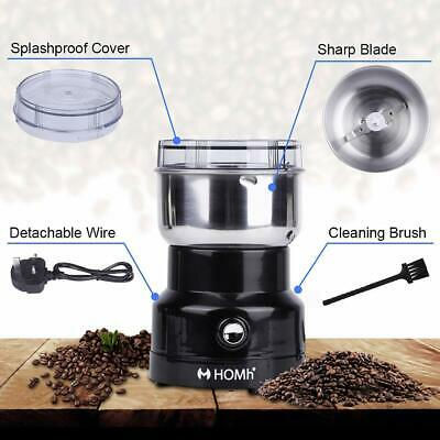 Coffee Grinder Spice 150W Silent Motor Coffe Mill Grinding Machine Beans