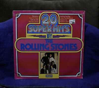 Rolling Stones~Very Rare Sealed Lp~20 Super Hits~1978 W.germany Press~Out/Print