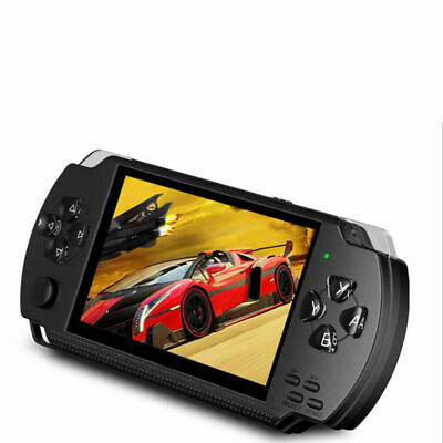 """8GB Handheld PSP Game Console Player 4.3"""" Portable Consoles With Earphone X9N0R"""
