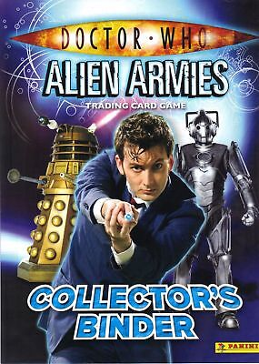Doctor Who Alien Armies Complete 280 Card Set With Official Binder - PANINI