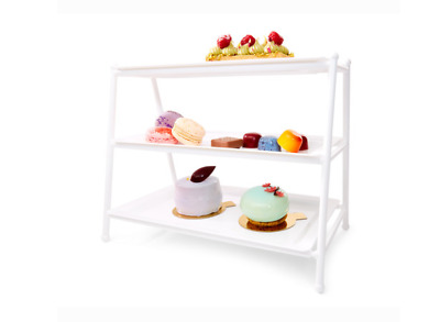 3 Tiered Serving Platter Stand Tray Tier Server Trays Perfect for Cake cup cakes