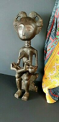 Old African Ghana Carved Wooden Akua'ba Fertility Doll …beautiful collection and