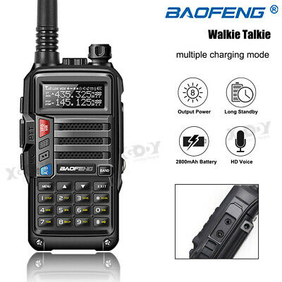 BaoFeng UV-860 8W UHF VHF Walkie Talkie 128CH VOX CTCSS DCS Two Way Radio 10km