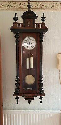 Antique wall clock Gustav Becker