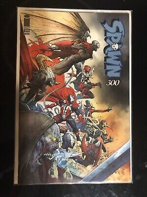 SPAWN #300 - NM (OR BETTER) JEROME OPENA VARIANT COVER - McFARLANE