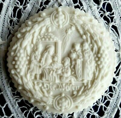 Springerle Speculaas Butter Cookie Paper Cast Print Stamp Press Mold NATIVITY 3
