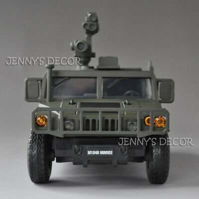 1:32 Diecast Metal Military Model Toy HMMWV Hummer Humvee M1046 Replica With S&L