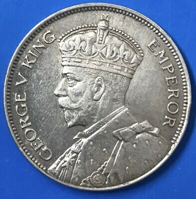 1934 New Zealand Half Crown AUnc