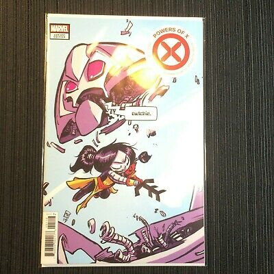 POWERS OF X #1 SKOTTIE YOUNG VARIANT! MARVEL 2019 *Near Mint* JONATHAN HICKMAN.