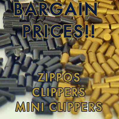 LIGHTER FLINTS FOR CLIPPERS AND ZIPPOS - High Quality Flints for Lighters