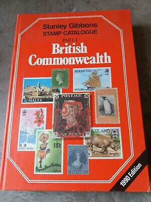 Stanley Gibbons Stamp Catalogue. British Commonwealth, Part 1. 1980