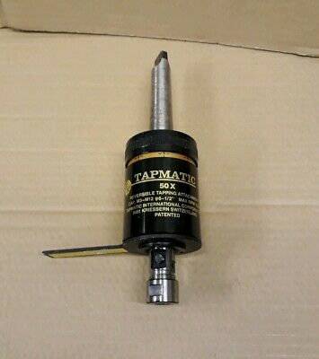 TAPMATIC 50X Torque Control Self-Reversing Tapping Attachment (M3 - M12)