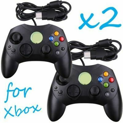 2x For Wired XBOX 360 USB Remote Video Game Controller Pad PC Windows Black AD