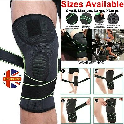 Knee Support Brace Compression Strap Sleeve Sports Protector Ligament Adjustable