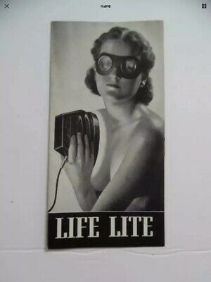 {Ultra Rare} Antique Life-Lite Ultra Violet Home Medical Device**Insane Quack***