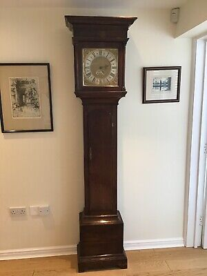 18th Century oak longcase   (Grandfather) Clock