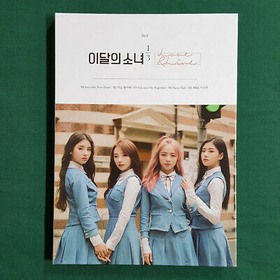 [Pre-Owned/ No Photocard] 1/3 Love & Live Loona No.5 - CD/ Booklet Monthly Girl