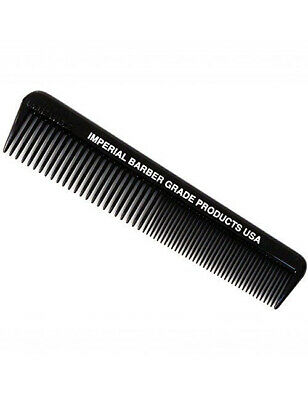 "Imperial Barber Products Mens Hair Style Styling 5"" Unbreakable Pocket Comb"