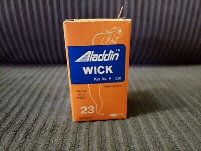 Aladdin Wick Part No. R-230 for Model 23 Burners - New with Box - Vintage