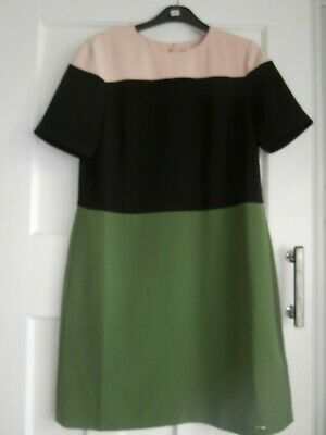 Ted Baker Colour by Numbers Block colour dress BNWT Ted size 2 -10