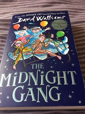 The Midnight Gang by David Walliams (Hardback, 2016)
