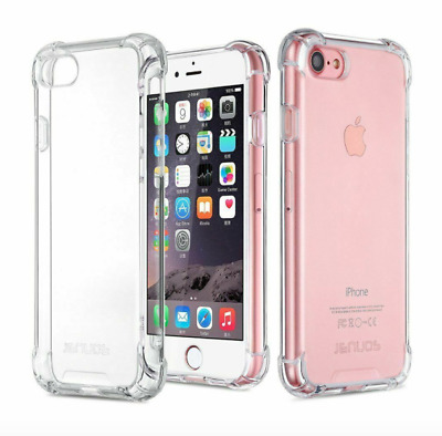iPhone 7/8 Silicone Case ShockProof Soft Phone Cover TPU Silicone (UK)