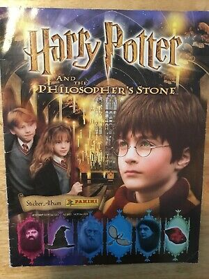 Harry Potter And The Philosopher's Stone Panini Sticker Book Complete