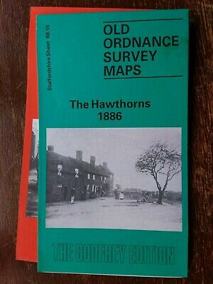 Old Ordnance Survey Map The Hawthorns 1886