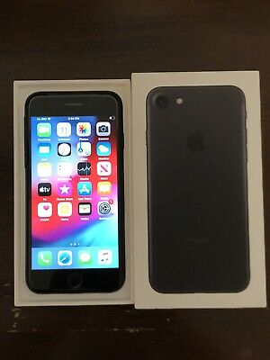 New Apple iPhone 7 32GB Matte Black - AT&T Prepaid Not Activated