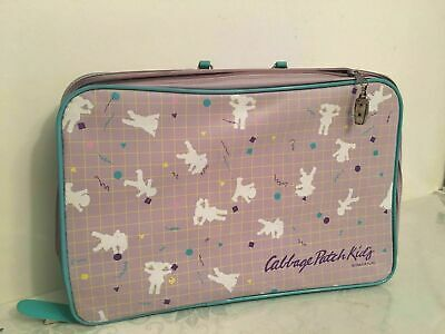 Cabbage patch kids 1986 suitcase with key collectible vintage RARE