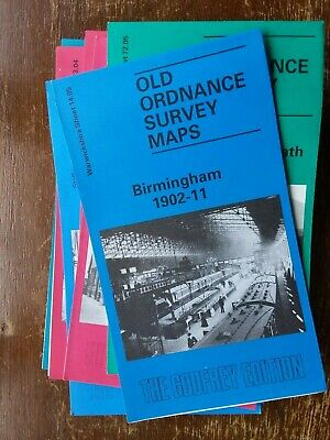 Old Ordnance Survey Map Birmingham 1902 to 11