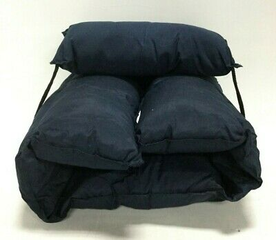 Briggs Medical Chair Cushion Standard Contours Comfortable Machine Washable Navy