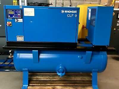 Boge CLDF9 Variable Speed Drive Receiver Mounted Rotary Screw Compressor + Dryer