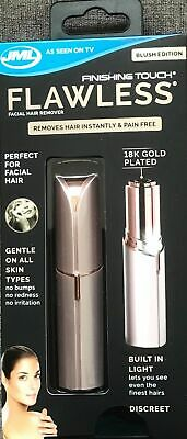 JML Finishing Touch Flawless Hair Remover Blush edition - discreet hair remover