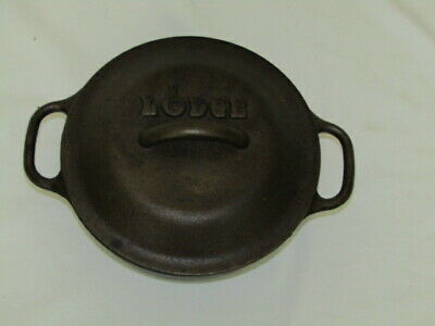 Lodge Cast Iron Dutch Oven w/ Spiked Lid 5 IC